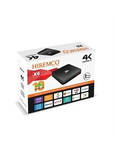 Hiremco Hiremco X6 4K Ultrahd Android Tv Box Renkli
